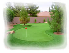 Artificial Grass Arizona & Phoenix Artificial Putting Greens from American Turf Co.